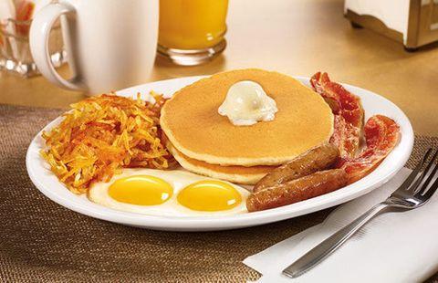 Dish, Food, Cuisine, Meal, Breakfast, Pancake, Ingredient, Full breakfast, Brunch, Pannekoek,
