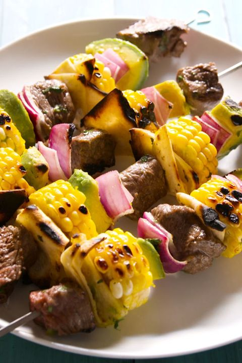 20 Easy Bbq Skewer Grilled Kebab Recipes For A Barbecue Delish Com