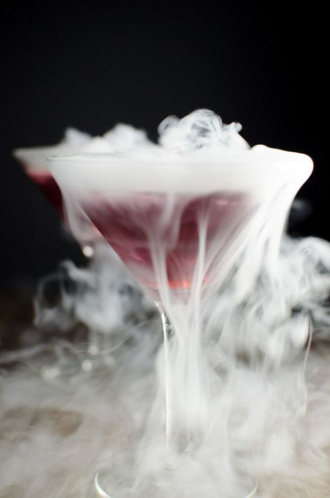 halloween dry ice cocktail