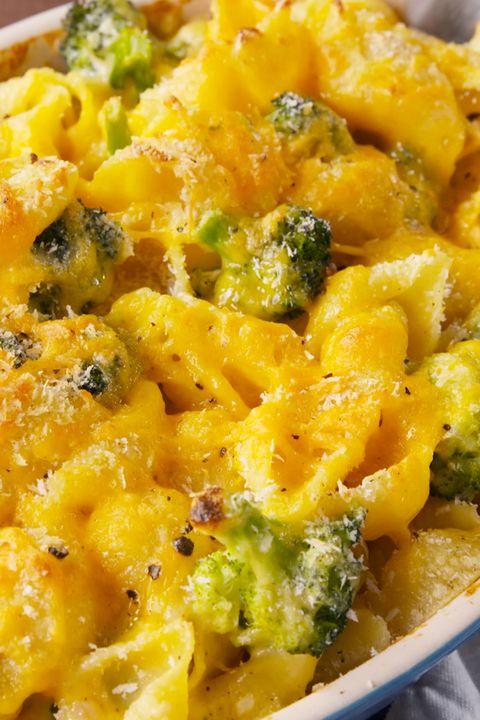 Broccoli-Cheddar Mac & Cheese