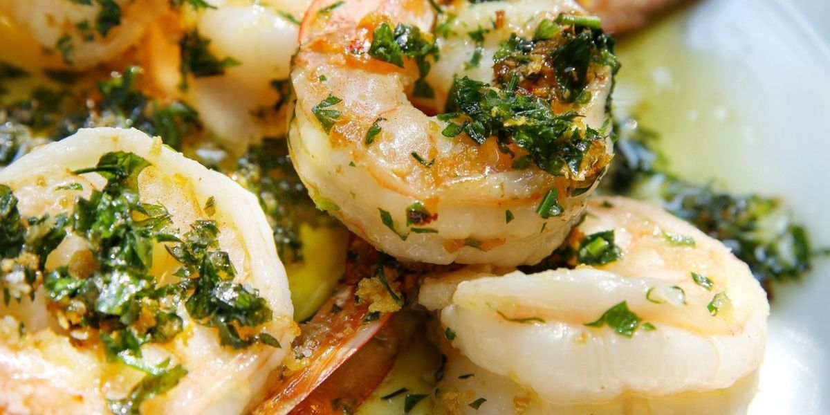 best garlic parsley shrimp recipe delish com