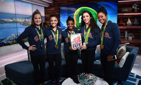 U.S. Women's Gymnastics Team Kellogg's