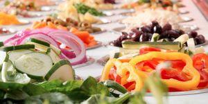 Jason's Deli salad bar