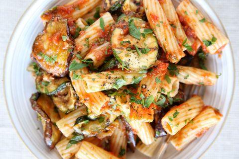 Grilled Vegetable Rigatoni Recipe