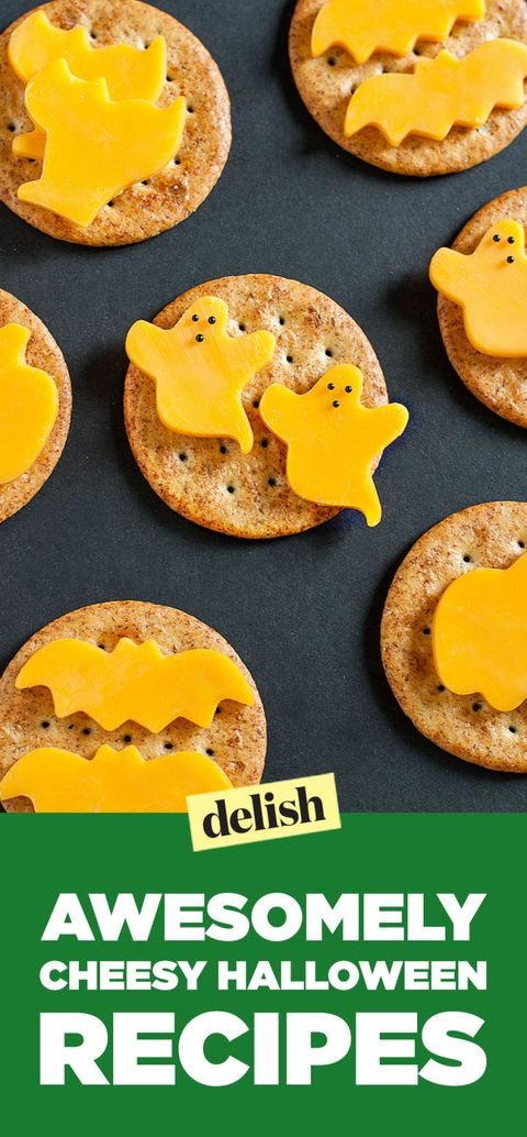 Cheesy Halloween Recipes Pin