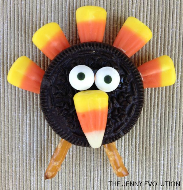 thanksgiving turkey oreo recipe