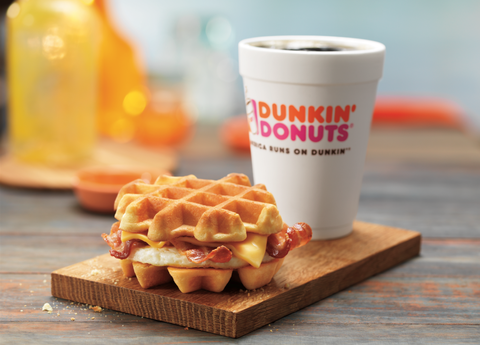 Dunkin' Donuts' New Waffle Sandwich Puts Every Other