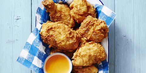 Food, Finger food, Fried food, Deep frying, Dish, Fast food, Pakora, Ingredient, Serveware, Junk food,