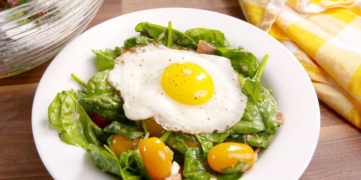 Breakfast Bacon And Egg Salad Recipe Delish Com
