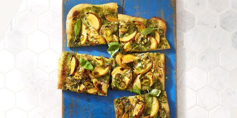Nectarine & Jalapeño Pizza Recipe
