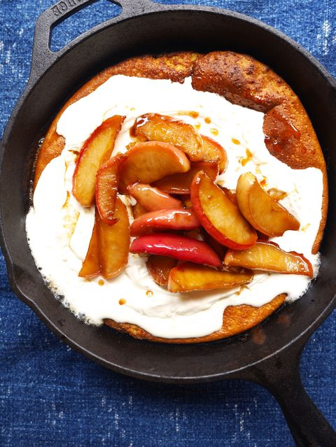 Pumpkin Dutch Baby with Caramelized Apples Recipe