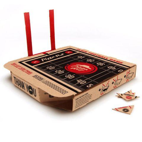 Pizza Hut Flick Football Box