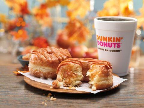 Dunkin' Caramel Apple Croissant Donut
