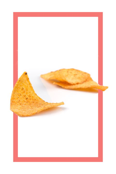 <p>What Doritos have got going for them: relatively low-cal and low-sodium (haha—only in this bracket, amirite?), airy, and pre-portion-controlled unless your local 7-Eleven&nbsp;stocks family-size bags, in which case you are plumb out of luck.&nbsp;</p>