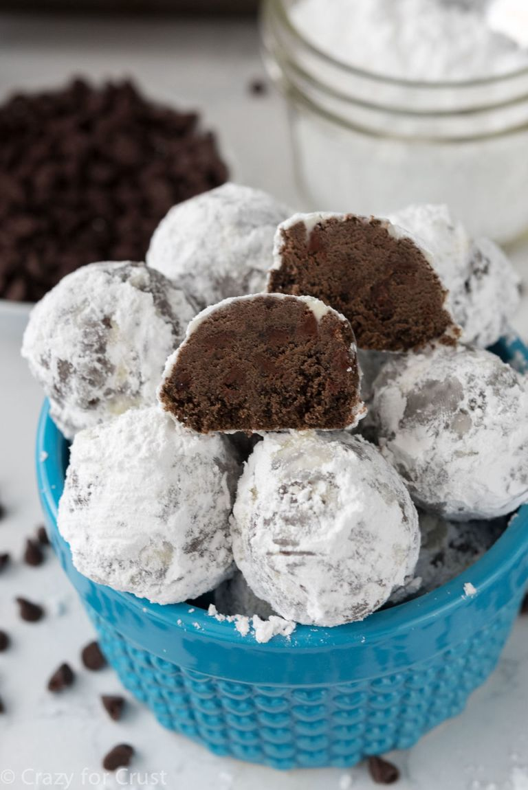 20+ Best Snowball Cookies - Recipes for No Bake Cookie Balls—Delish.com