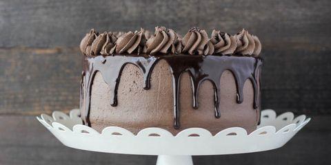 Dessert, Baked goods, Cake, Baking, Icing, Gluten, Snack, Chocolate,