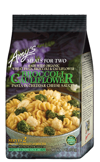 Amy's Broccoli & Cauliflower In Cheese Sauce