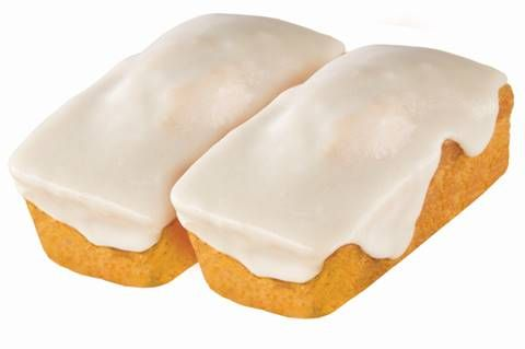 Iced Pumpkin Mini Loaf Cakes