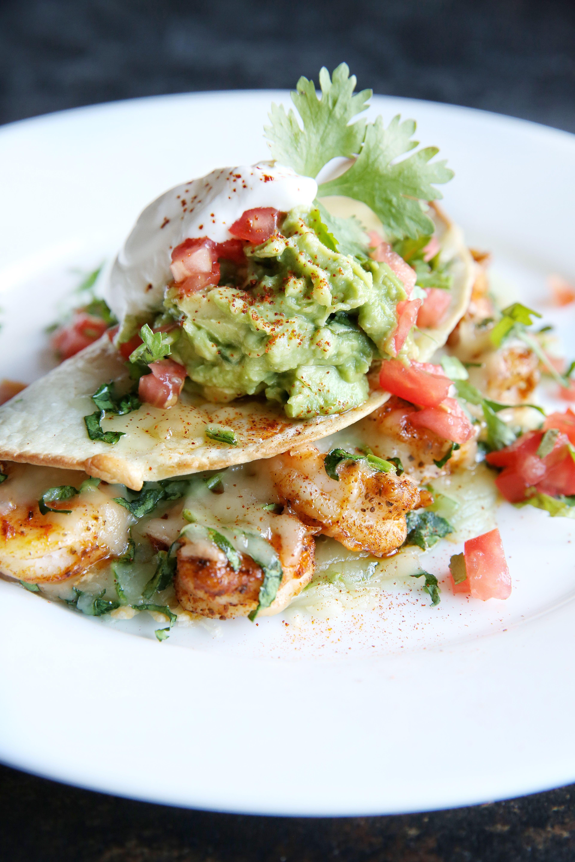 Old Bay Shrimp Quesadillas Recipe