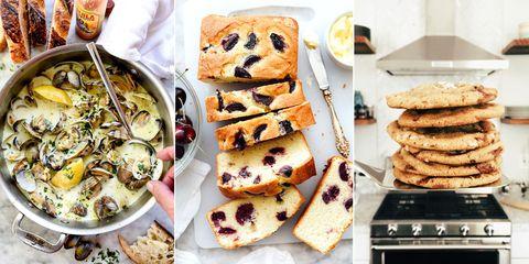 Food, Cuisine, Finger food, Dish, Ingredient, Baked goods, Tableware, Plate, Recipe, Breakfast,