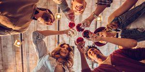 wine, cheers