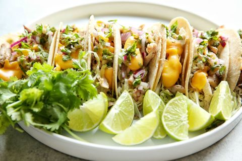 Jerk Chicken Tacos Horizontal