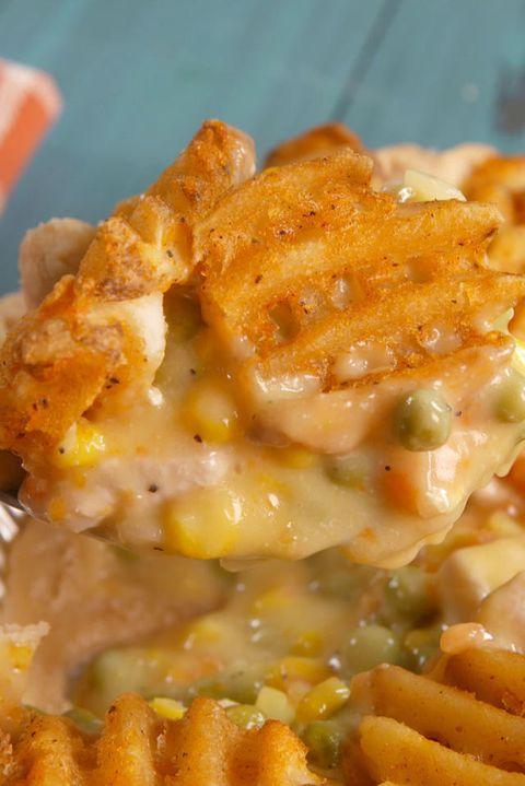 Waffle Fry Pot Pie Vertical