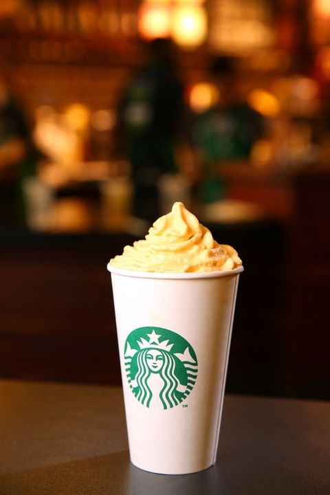 PSL with pumpkin spice whip