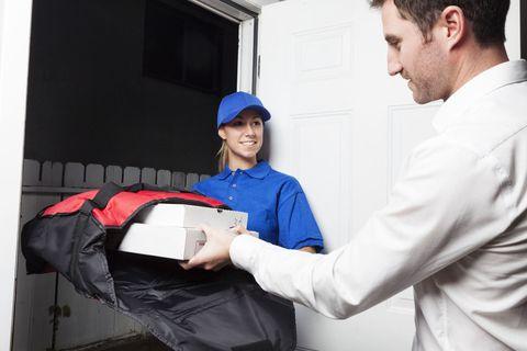 Workwear, Cap, Job, Service, Uniform, Employment, Glove, Safety glove, Gesture, Door,