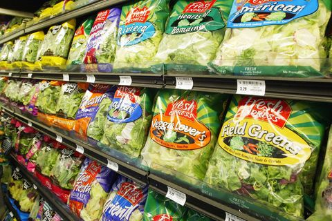 Fresh Express Bagged Salad Recalled For The Fourth Time This