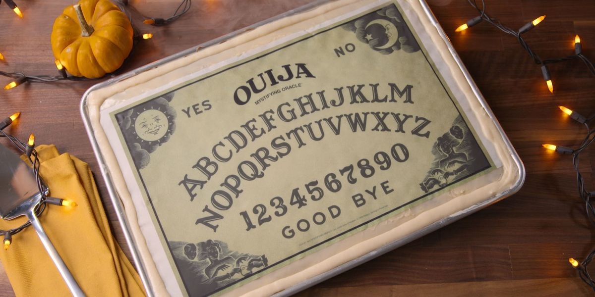 How To Make A Ouija Board Cake Best Halloween Party