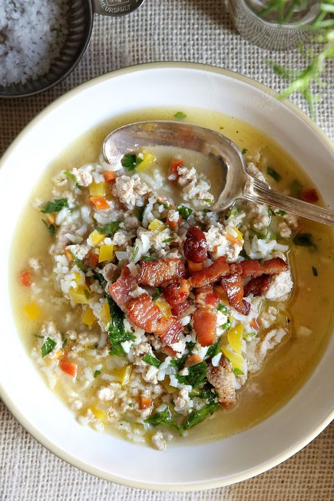 Turkey and Rice Vegetable Soup Recipe