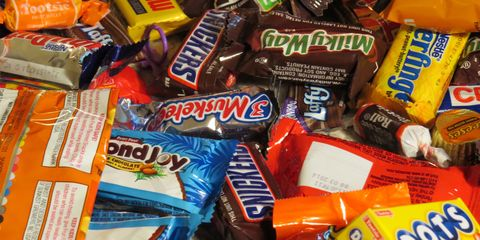 Food, Confectionery, Sweetness, Junk food, Orange, Chocolate, Snickers, Candy, Convenience food, Dessert,