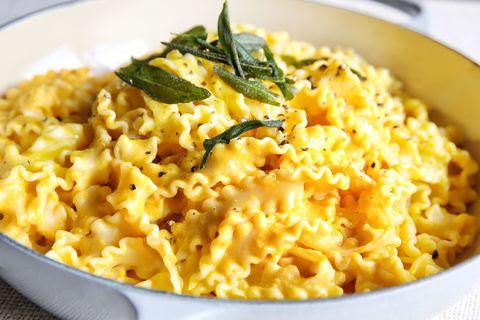 Pumpkin Alfredo Pasta Recipe