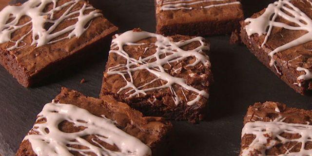Best Cobweb Brownies Recipe How To Make Cobweb Brownies