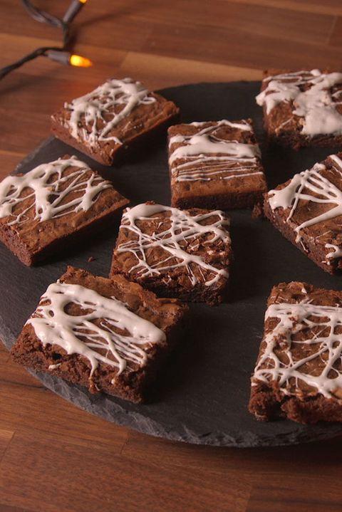 Cobweb Brownies   Beanstalk Mums