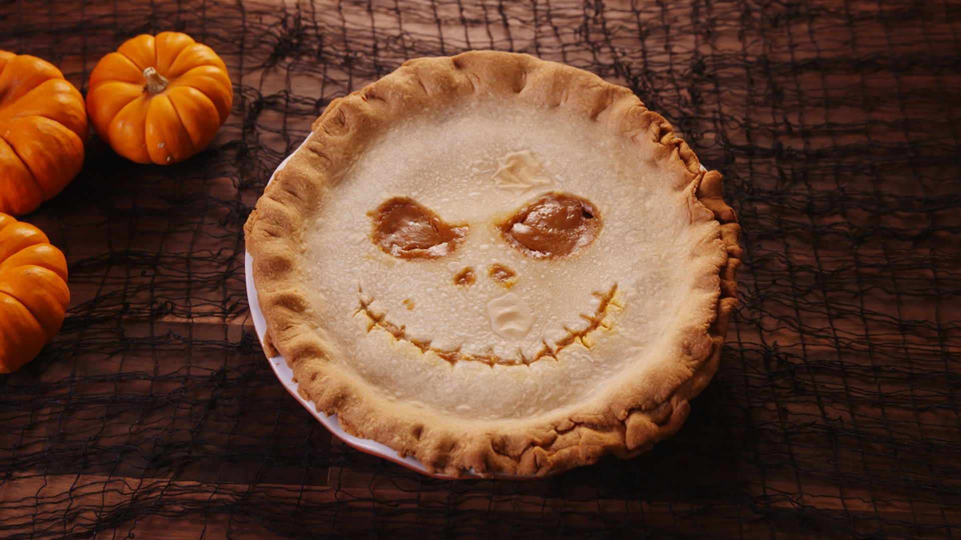 best jack skellington inspired pumpkin caramel pie recipe how to
