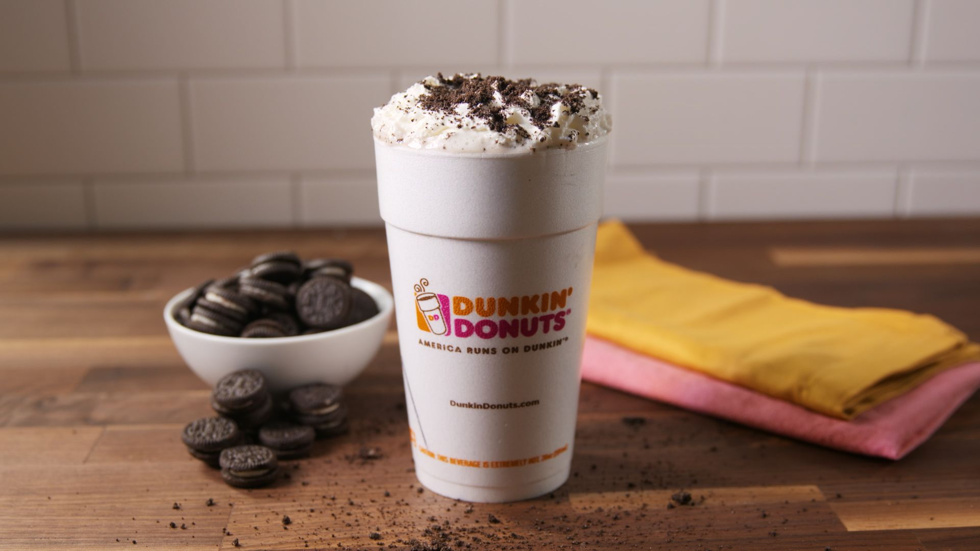 Dunkin Donuts Oreo Hot Chocolate Recipe