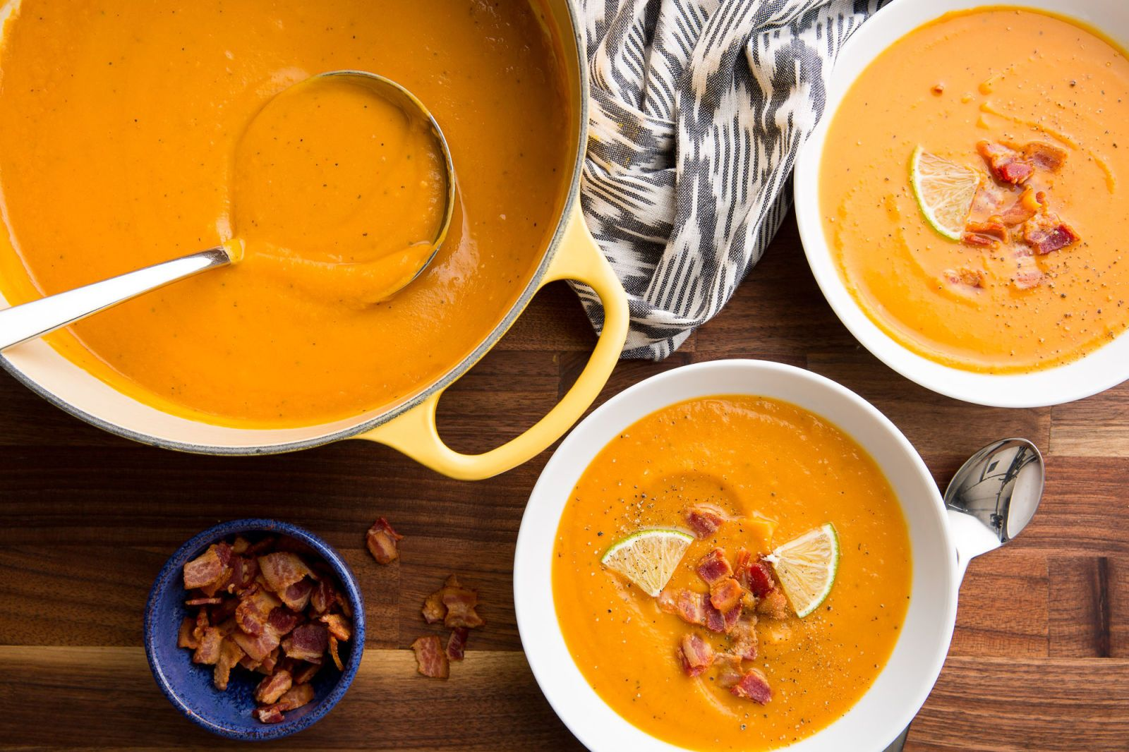 Bacon-Sweet Potato Soup