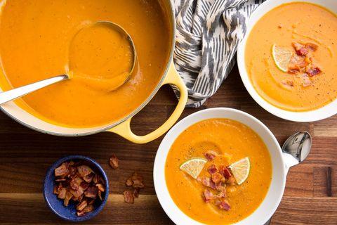 Bacon–Sweet Potato Soup Recipe