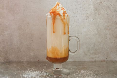 Salted Caramel White Hot Chocolate