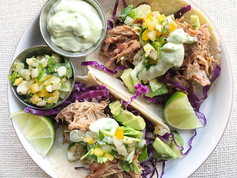Pulled Pork Tacos | Pulled Pork Recipes | Homemade Recipes