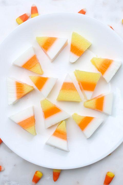 candy corn jell o shots