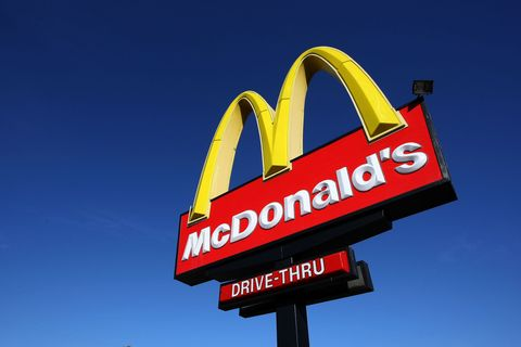 Font, Logo, Signage, Fast food restaurant, Gas, Restaurant, Sign, Electronic signage, Advertising, Graphics,