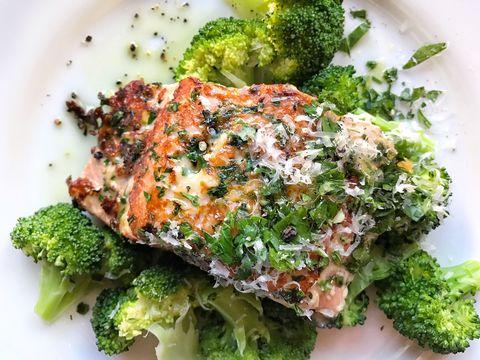 Parmesan-Crusted Salmon Recipe
