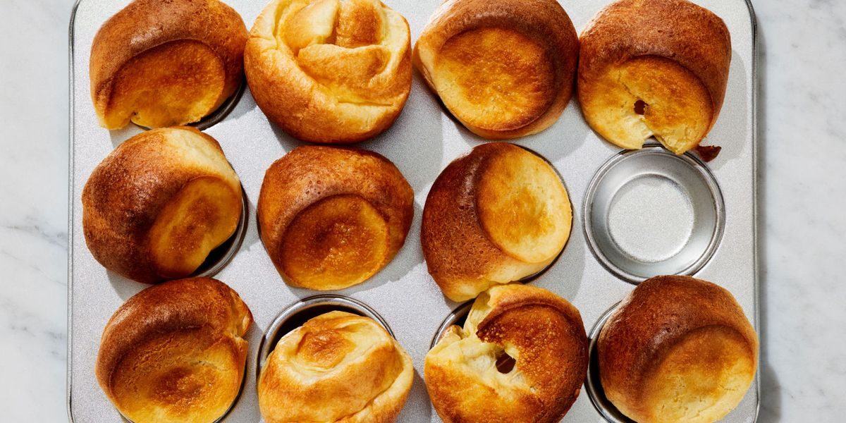Best Popovers And Easy Berry Butter Recipe How To Make Popovers