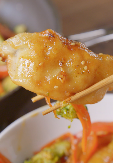Dumpling Stir Fry Vertical