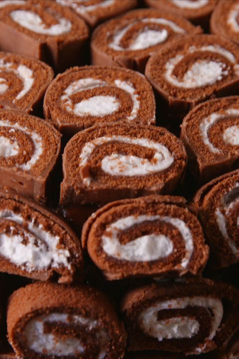 Swiss Roll Cake Vertical Beauty