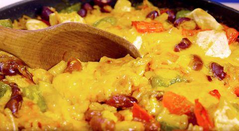 Food, Cuisine, Dish, Recipe, Ingredient, Garnish, Comfort food, Mixture, Vegetarian food, Meal,