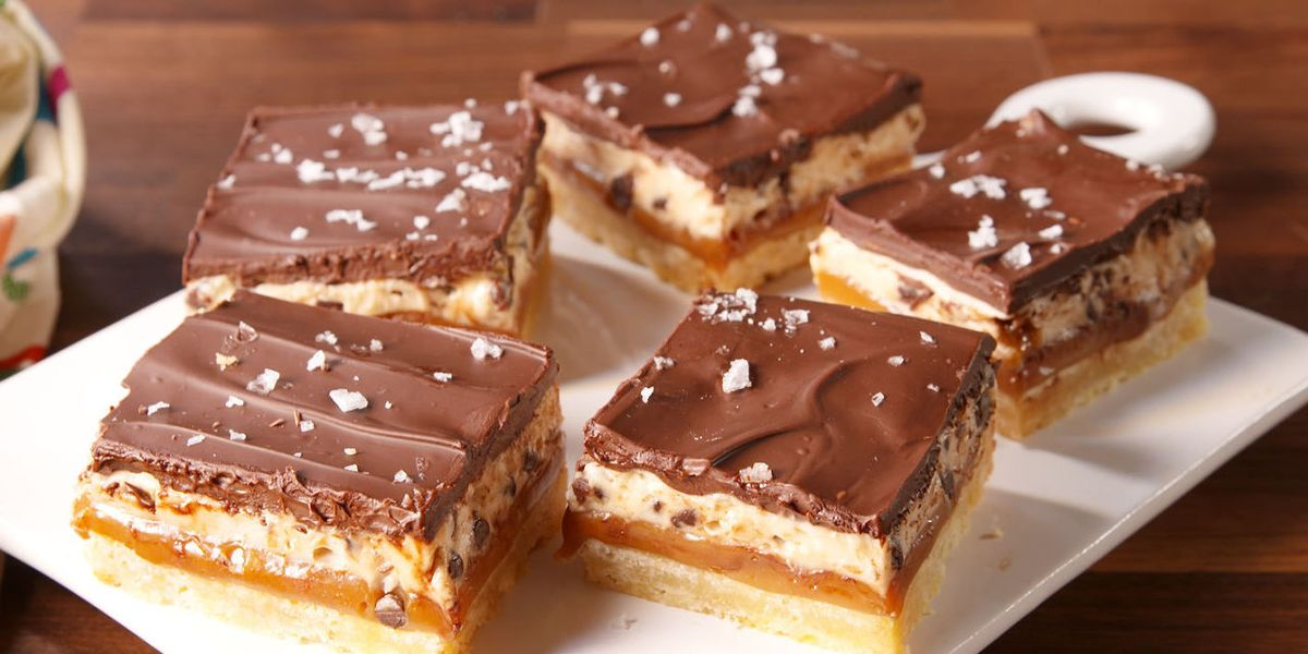 These Insanely Delicious Dessert Bars Won't Last Long